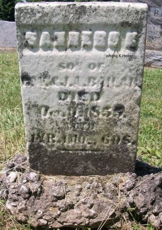 BAILAR, SANDERS - Champaign County, Ohio | SANDERS BAILAR - Ohio Gravestone Photos