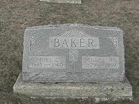 BAKER, ETHEL - Champaign County, Ohio | ETHEL BAKER - Ohio Gravestone Photos