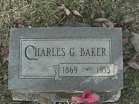 BAKER, CHARLES G. - Champaign County, Ohio | CHARLES G. BAKER - Ohio Gravestone Photos