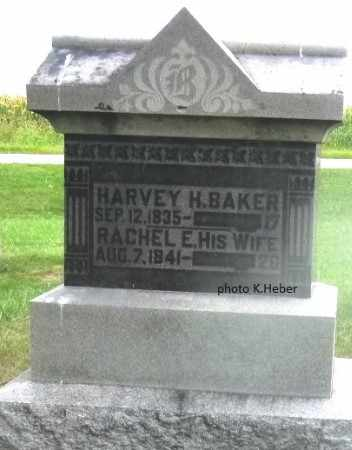 BAKER, HARVEY HUMPHRUS - Champaign County, Ohio | HARVEY HUMPHRUS BAKER - Ohio Gravestone Photos