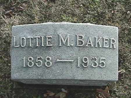 PENCE BAKER, LOTTIE M. - Champaign County, Ohio | LOTTIE M. PENCE BAKER - Ohio Gravestone Photos