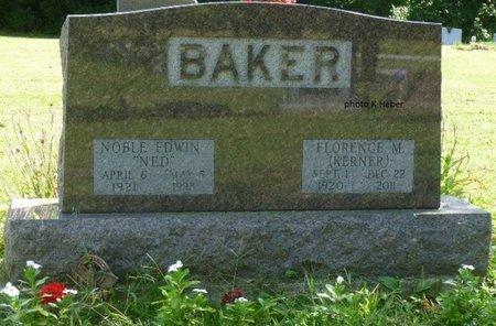 BAKER, FLORENCE M - Champaign County, Ohio   FLORENCE M BAKER - Ohio Gravestone Photos