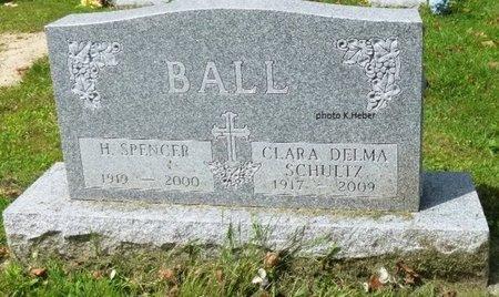 BALL, HERBERT SPENCER - Champaign County, Ohio | HERBERT SPENCER BALL - Ohio Gravestone Photos