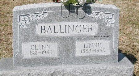 BALLINGER, GLENN - Champaign County, Ohio | GLENN BALLINGER - Ohio Gravestone Photos
