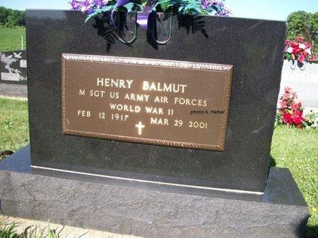 "BALMUT, HENRY ""HANK"" - Champaign County, Ohio | HENRY ""HANK"" BALMUT - Ohio Gravestone Photos"