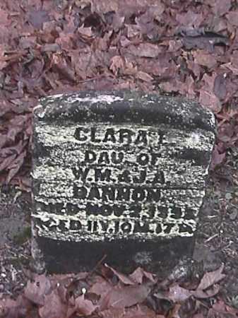BANNON, CLARA E. - Champaign County, Ohio | CLARA E. BANNON - Ohio Gravestone Photos