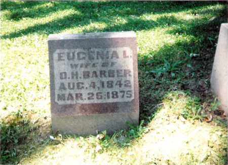 SPENCER BARBER, EUGENIA - Champaign County, Ohio | EUGENIA SPENCER BARBER - Ohio Gravestone Photos