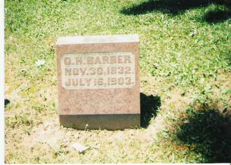 BARBER, ORVILLE HARRISON - Champaign County, Ohio | ORVILLE HARRISON BARBER - Ohio Gravestone Photos