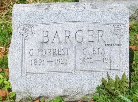 BARGER, CLETA FERN - Champaign County, Ohio   CLETA FERN BARGER - Ohio Gravestone Photos