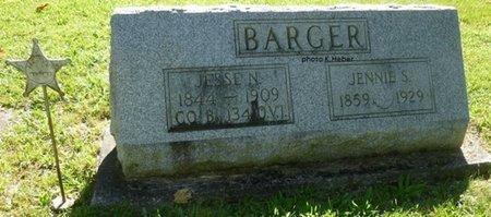 BARGER, JESSE NEER - Champaign County, Ohio | JESSE NEER BARGER - Ohio Gravestone Photos