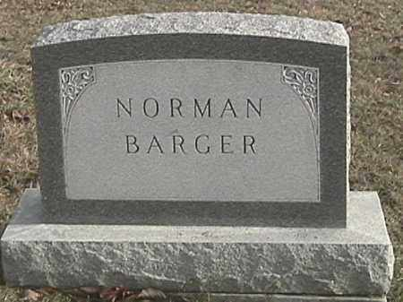 BARGER, NORMAN - Champaign County, Ohio | NORMAN BARGER - Ohio Gravestone Photos