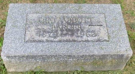 ABBOTT BARGER, ORA MELVA - Champaign County, Ohio | ORA MELVA ABBOTT BARGER - Ohio Gravestone Photos