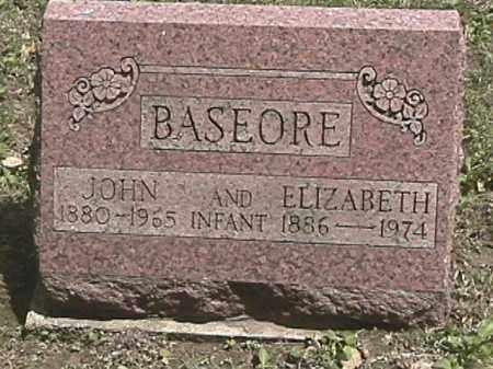 BASEORE, JOHN - Champaign County, Ohio | JOHN BASEORE - Ohio Gravestone Photos