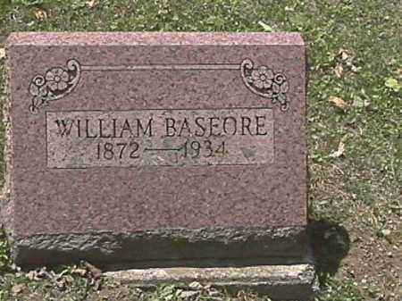 BASEORE, WILLIAM JACOB - Champaign County, Ohio | WILLIAM JACOB BASEORE - Ohio Gravestone Photos