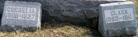 BAUGH, CLARK - Champaign County, Ohio | CLARK BAUGH - Ohio Gravestone Photos