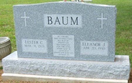 BAUM, ELEANOR J - Champaign County, Ohio | ELEANOR J BAUM - Ohio Gravestone Photos