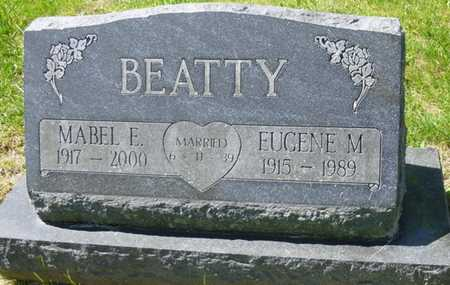 "BEATTY, EUGENE MADDEN ""GENE"" - Champaign County, Ohio | EUGENE MADDEN ""GENE"" BEATTY - Ohio Gravestone Photos"