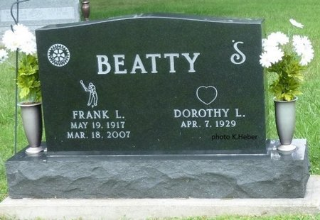 BEATTY, FRANK LANE - Champaign County, Ohio | FRANK LANE BEATTY - Ohio Gravestone Photos
