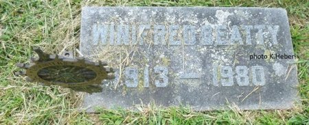BEATTY, WINIFRED - Champaign County, Ohio   WINIFRED BEATTY - Ohio Gravestone Photos