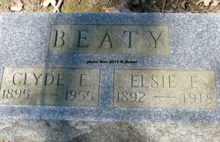 BEATY, CLYDE EMERSON - Champaign County, Ohio   CLYDE EMERSON BEATY - Ohio Gravestone Photos