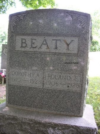BEATY, ROLAND ERNEST - Champaign County, Ohio | ROLAND ERNEST BEATY - Ohio Gravestone Photos