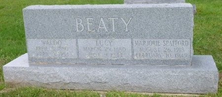 BEATY, WALDO CRAIGHILL - Champaign County, Ohio | WALDO CRAIGHILL BEATY - Ohio Gravestone Photos