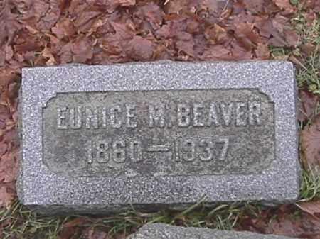 BEAVER, EUNICE MOTT - Champaign County, Ohio | EUNICE MOTT BEAVER - Ohio Gravestone Photos