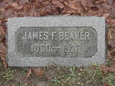 BEAVER, JAMES F. - Champaign County, Ohio | JAMES F. BEAVER - Ohio Gravestone Photos