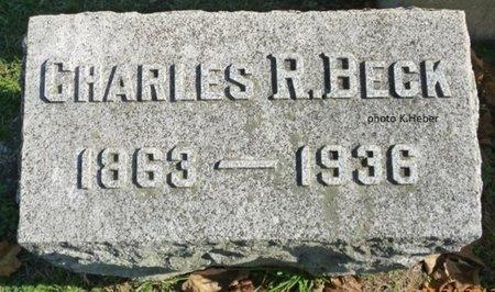 BECK, CHARLES R - Champaign County, Ohio | CHARLES R BECK - Ohio Gravestone Photos