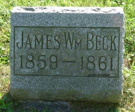 BECK, JAMES WILLIAM - Champaign County, Ohio | JAMES WILLIAM BECK - Ohio Gravestone Photos