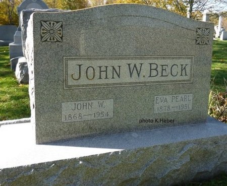 BECK, JOHN W - Champaign County, Ohio | JOHN W BECK - Ohio Gravestone Photos