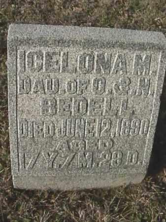 BEDELL, ICELONA M - Champaign County, Ohio | ICELONA M BEDELL - Ohio Gravestone Photos