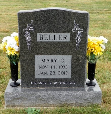 BELLER, MARY C. - Champaign County, Ohio | MARY C. BELLER - Ohio Gravestone Photos