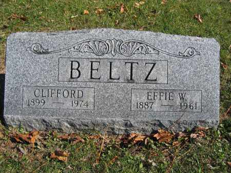 BELTZ, CLIFFORD - Champaign County, Ohio | CLIFFORD BELTZ - Ohio Gravestone Photos
