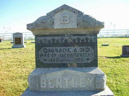 BENTLEY, SADIE - Champaign County, Ohio   SADIE BENTLEY - Ohio Gravestone Photos