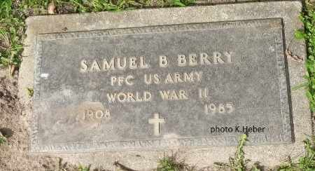 BERRY, SAMUEL BENSON - Champaign County, Ohio | SAMUEL BENSON BERRY - Ohio Gravestone Photos
