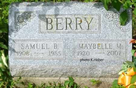 RUTHERFORD BERRY, MAYBELLE MARIE - Champaign County, Ohio | MAYBELLE MARIE RUTHERFORD BERRY - Ohio Gravestone Photos