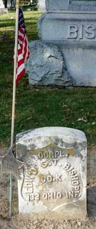 BISHOP, EDWARD S. T. - Champaign County, Ohio | EDWARD S. T. BISHOP - Ohio Gravestone Photos