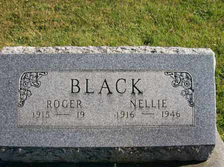 BLACK, NELLIE - Champaign County, Ohio | NELLIE BLACK - Ohio Gravestone Photos