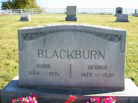 BLACKBURN, SADIE - Champaign County, Ohio | SADIE BLACKBURN - Ohio Gravestone Photos