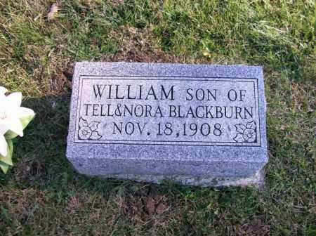 BLACKBURN, WILLIAM - Champaign County, Ohio | WILLIAM BLACKBURN - Ohio Gravestone Photos