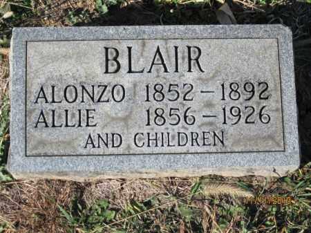 BLAIR, ALONZO LAFORGE - Champaign County, Ohio | ALONZO LAFORGE BLAIR - Ohio Gravestone Photos