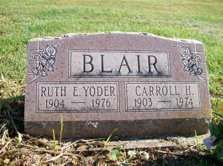 BLAIR, RUTH E. YODER - Champaign County, Ohio | RUTH E. YODER BLAIR - Ohio Gravestone Photos