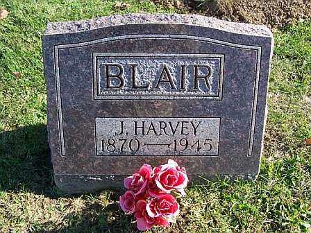 BLAIR, J HARVEY - Champaign County, Ohio | J HARVEY BLAIR - Ohio Gravestone Photos