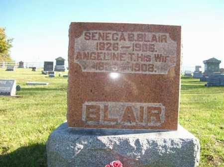 BLAIR, SENECA B. - Champaign County, Ohio | SENECA B. BLAIR - Ohio Gravestone Photos