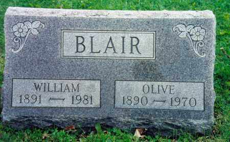 BLAIR, OLIVE BEATRICE - Champaign County, Ohio | OLIVE BEATRICE BLAIR - Ohio Gravestone Photos