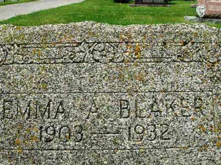CLINE BLAKER, EMMA - Champaign County, Ohio | EMMA CLINE BLAKER - Ohio Gravestone Photos