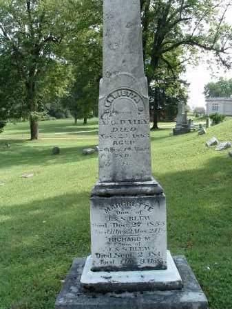 BLEW, MARGRETTE - Champaign County, Ohio   MARGRETTE BLEW - Ohio Gravestone Photos