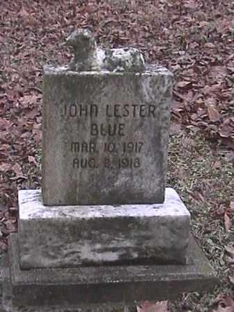 BLUE, JOHN LESTER - Champaign County, Ohio | JOHN LESTER BLUE - Ohio Gravestone Photos