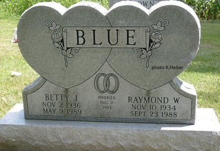 ALDRIDGE BLUE, BETTY JUNE - Champaign County, Ohio | BETTY JUNE ALDRIDGE BLUE - Ohio Gravestone Photos